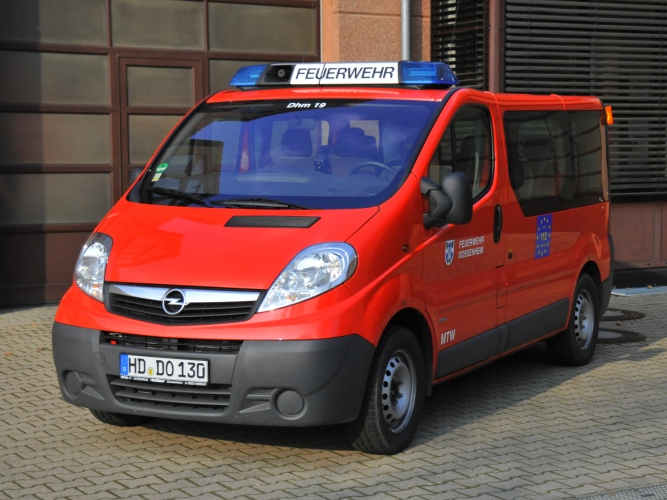 Mannschaftstransportwagen MTW (Dhm 19)